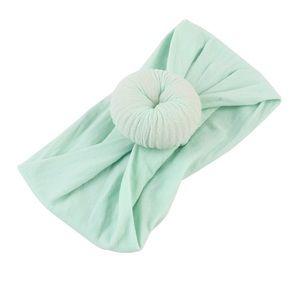 Other - Mint Green Nylon Turbon Baby Headband